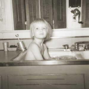 Jane in Sink