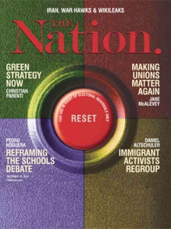 Nation magazine cover, 12/20/2010