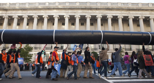 keystone pipeline demonstration