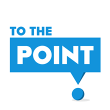 To The Point logo