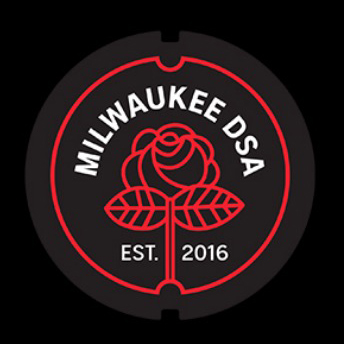 Milwaukee DSA logo