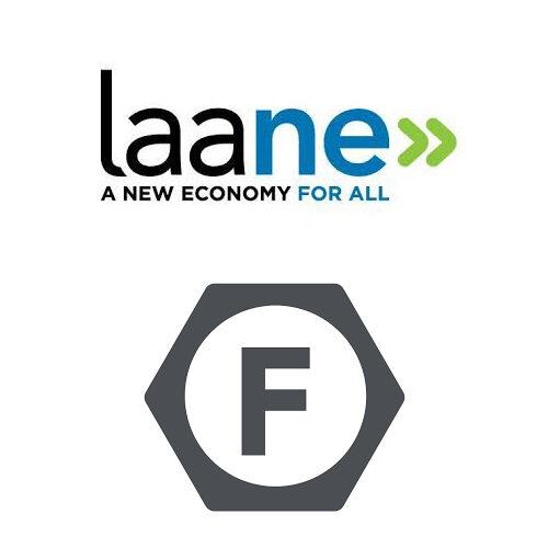 LAANE & LA Fed logos