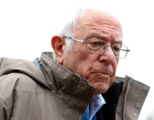 Bernie Sanders worried