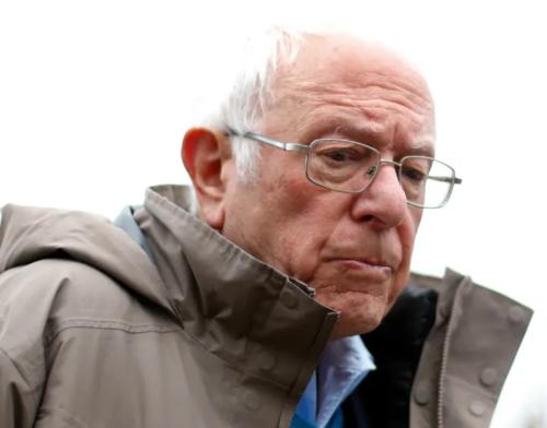 Bernie Sanders worried