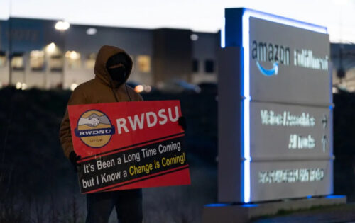 Amazon union push in Alabama